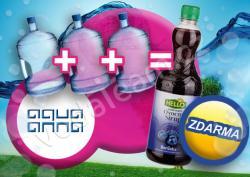 Kup 3 vody AQUA ANNA a dostaneš SIRUP zdarma !!!