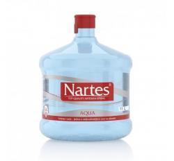 NARTES -  přírodní pramenitá voda v barelu 11 l. - MORAVA